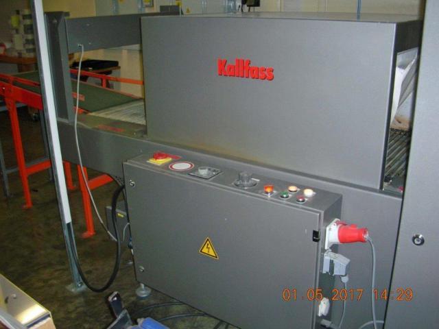 Kallfass Superwrap 650 Straffpacker mit Schrumpftunnel - 2