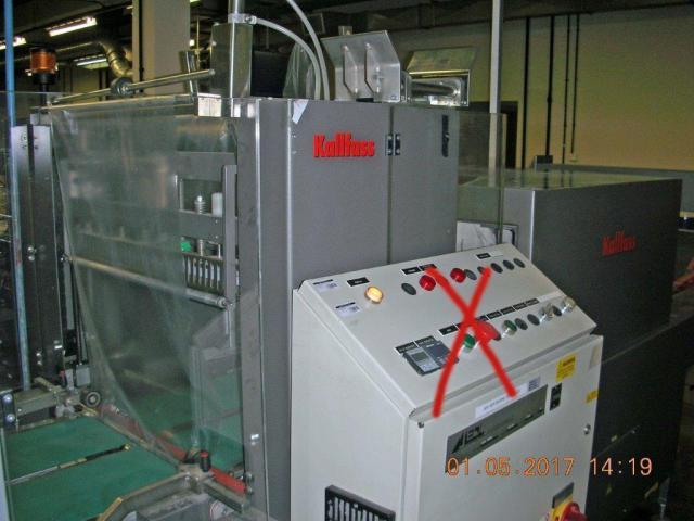 Kallfass Superwrap 650 Straffpacker mit Schrumpftunnel - 3