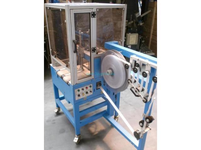 ATS Tanner Ultrasonic 2000 TRS automatische Banderoliermaschine - 1