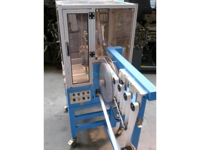 ATS Tanner Ultrasonic 2000 TRS automatische Banderoliermaschine - 4
