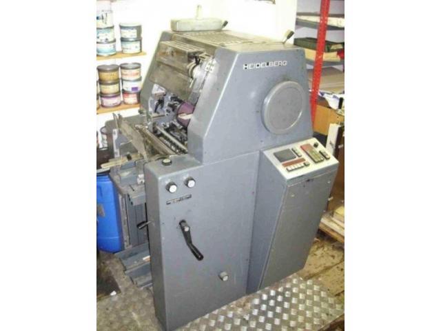 Heidelberg TO-K Einfarben-Offsetdruckmaschine - 2