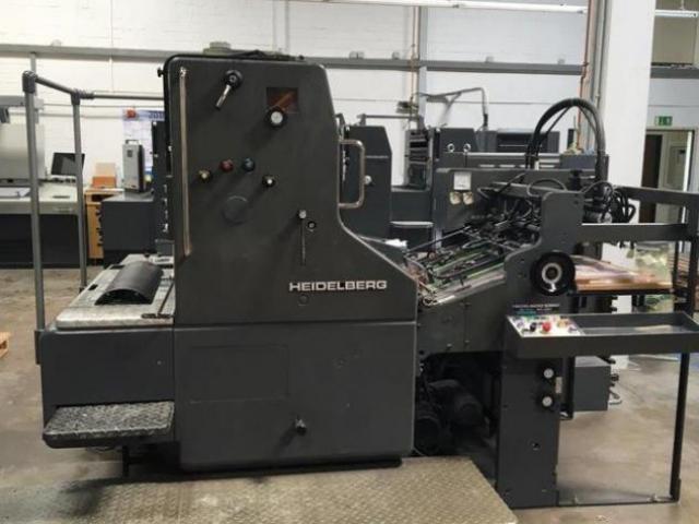 Heidelberg SORM Einfarben-Offsetdruckmaschine - 1