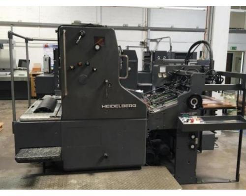 Heidelberg SORM Einfarben-Offsetdruckmaschine - Bild 1