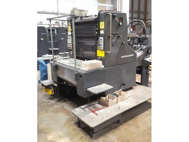 Heidelberg SORM Einfarben-Offsetdruckmaschine - 4