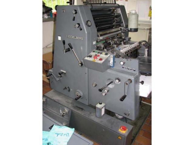 Heidelberg GTO 52 Einfarben-Offsetdruckmaschine - 1