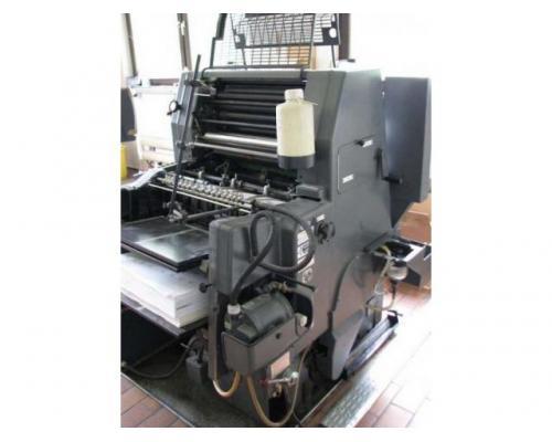 Heidelberg GTO 52 Einfarben-Offsetdruckmaschine - Bild 2