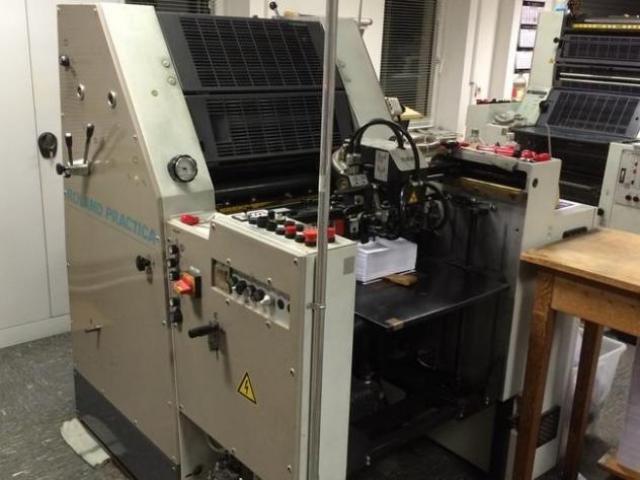 Roland Practica 00 Einfarben-Offsetdruckmaschine - 1