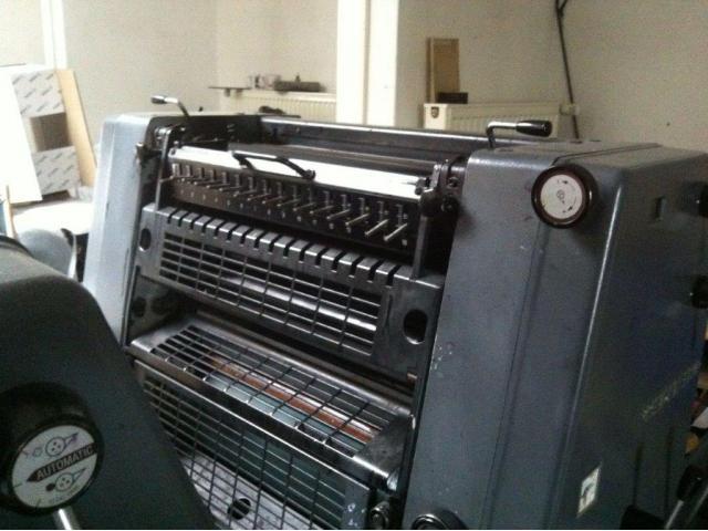Heidelberg GTO 52-2-P Zweifarben-Offsetdruckmaschine - 1