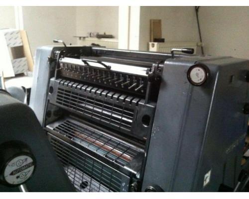 Heidelberg GTO 52-2-P Zweifarben-Offsetdruckmaschine - Bild 1