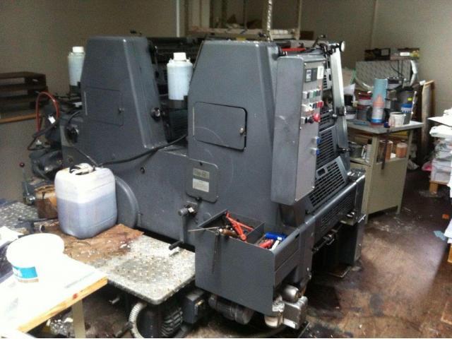 Heidelberg GTO 52-2-P Zweifarben-Offsetdruckmaschine - 2
