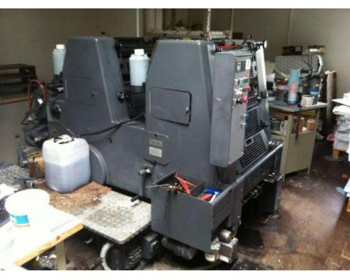 Heidelberg GTO 52-2-P Zweifarben-Offsetdruckmaschine - Bild 2