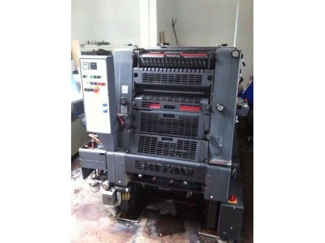 Heidelberg GTO 52-2-P Zweifarben-Offsetdruckmaschine - 3