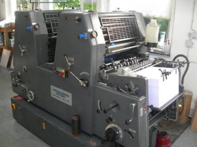 Heidelberg GTOZ-46 Zweifarben-Offsetdruckmaschine - 1