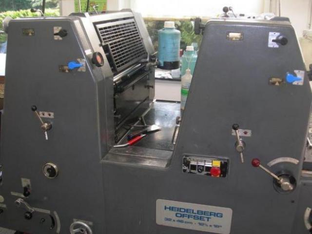 Heidelberg GTOZ-46 Zweifarben-Offsetdruckmaschine - 2