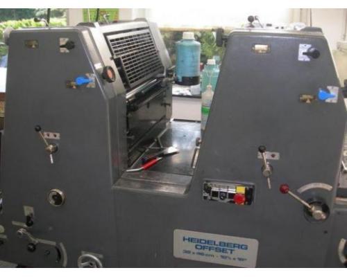 Heidelberg GTOZ-46 Zweifarben-Offsetdruckmaschine - Bild 2