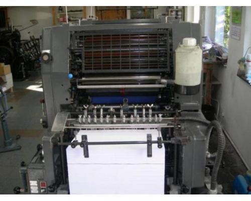 Heidelberg GTOZ-46 Zweifarben-Offsetdruckmaschine - Bild 3