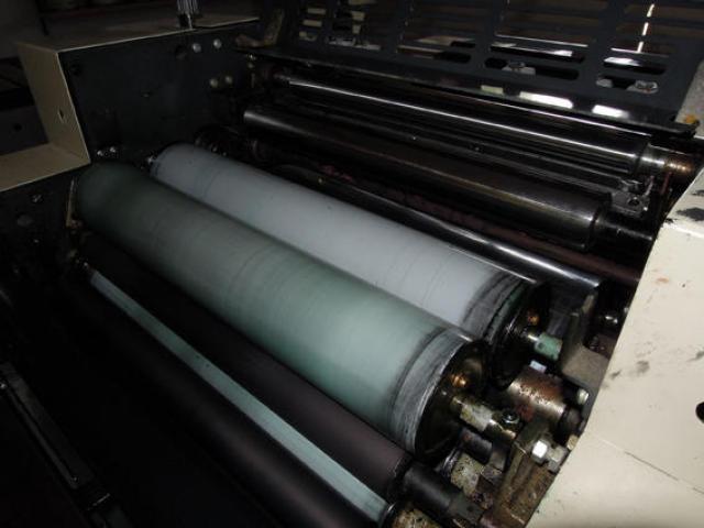 Ryobi 985 CF Zweifarben-Endlosdruckmaschine - 2