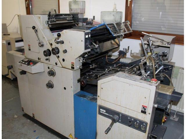 Ryobi 3300 MR Zweifarben-Offsetdruckmaschine - 1
