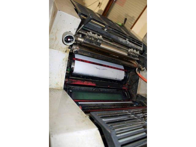Ryobi 3300 MR Zweifarben-Offsetdruckmaschine - 2