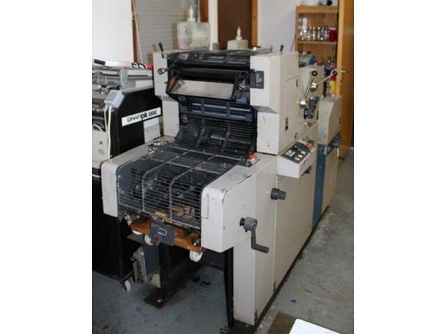 Ryobi 3300 MR Zweifarben-Offsetdruckmaschine - 3