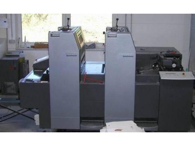 Heidelberg SM 52-2-P Zweifarben-Offsetdruckmaschine - 1