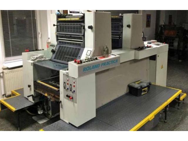 Roland Practica PRZ 00 Zweifarben-Offsetdruckmaschine - 1