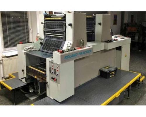 Roland Practica PRZ 00 Zweifarben-Offsetdruckmaschine - Bild 1