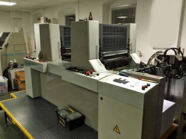 Roland Practica PRZ 00 Zweifarben-Offsetdruckmaschine - 2