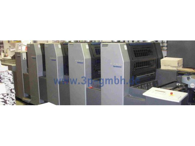 Heidelberg Speedmaster SM 52-4-L Vierfarben-Offsetdruckmaschine - 1