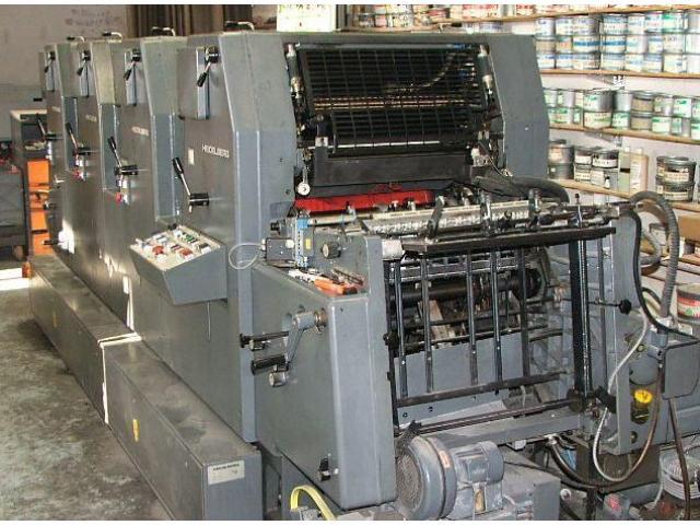 Heidelberg GTOVP-52 Vierfarben-Offsetdruckmaschine - 1