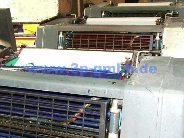 Heidelberg GTOVP-52 Vierfarben-Offsetdruckmaschine - 3