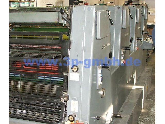 Heidelberg GTOVP-52 Vierfarben-Offsetdruckmaschine - 4