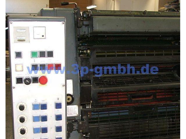 Heidelberg GTOVP-52 Vierfarben-Offsetdruckmaschine - 6
