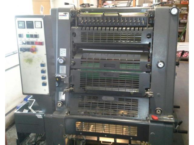 Heidelberg GTO 52-4-P3 Vierfarben-Offsetdruckmaschine - 1