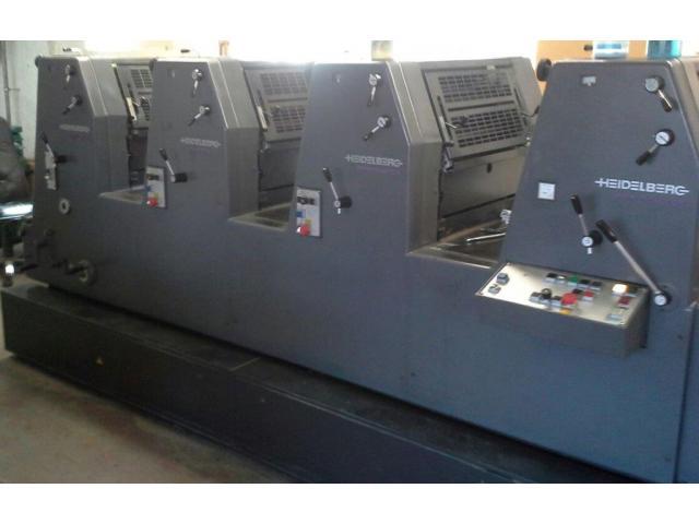 Heidelberg GTO 52-4-P3 Vierfarben-Offsetdruckmaschine - 2