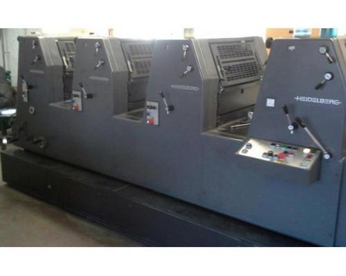 Heidelberg GTO 52-4-P3 Vierfarben-Offsetdruckmaschine - Bild 2