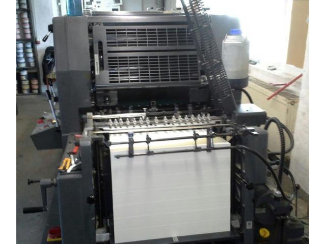 Heidelberg GTO 52-4-P3 Vierfarben-Offsetdruckmaschine - 4