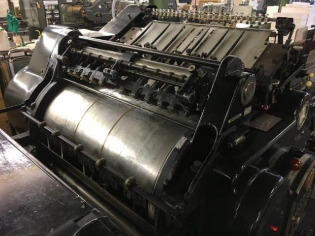 Heidelberg OHZ SBB Zylinder - 2