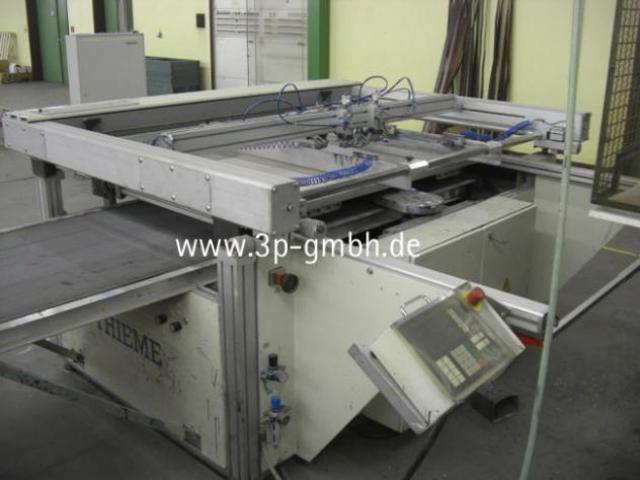Thieme 3030 SL-140 Flachbett-Siebdruck-3/4-Automat mit Seitenauslage links - 1
