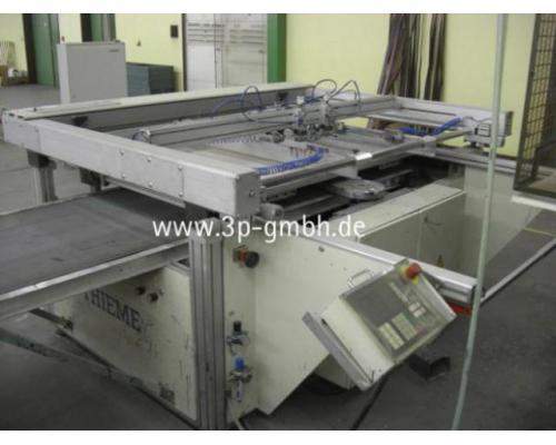 Thieme 3030 SL-140 Flachbett-Siebdruck-3/4-Automat mit Seitenauslage links - Bild 1