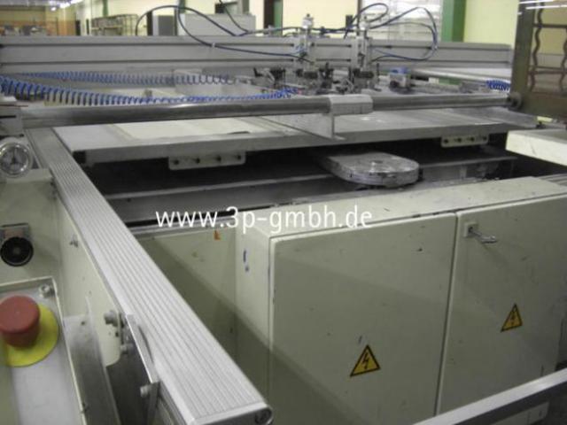 Thieme 3030 SL-140 Flachbett-Siebdruck-3/4-Automat mit Seitenauslage links - 3