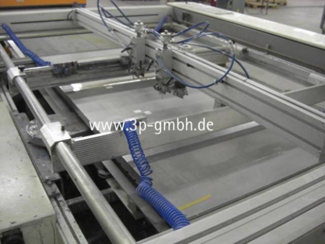 Thieme 3030 SL-140 Flachbett-Siebdruck-3/4-Automat mit Seitenauslage links - 4