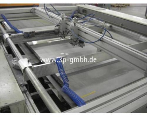 Thieme 3030 SL-140 Flachbett-Siebdruck-3/4-Automat mit Seitenauslage links - Bild 4