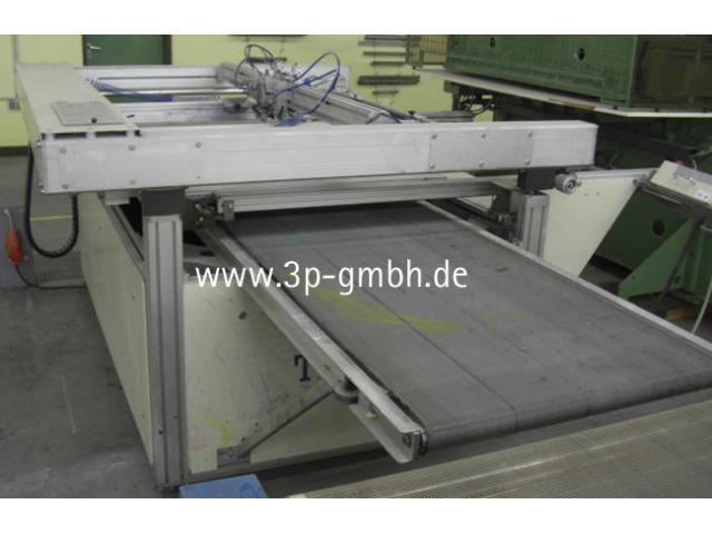 Thieme 3030 SL-140 Flachbett-Siebdruck-3/4-Automat mit Seitenauslage links - 5