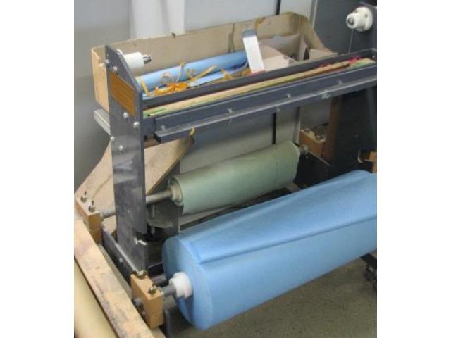 Vliesstoff Kasper manueller Doppel-Waschtuchwickelstand - 1