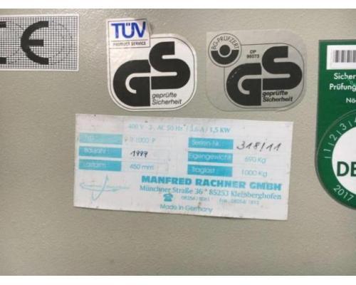 Rachner R 1000 P Stapelwender - Bild 2