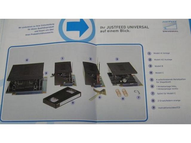 JustFeed Universal Kuvertdruck-Kit - 4