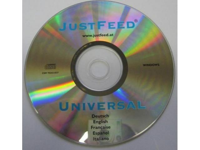 JustFeed Universal Kuvertdruck-Kit - 5