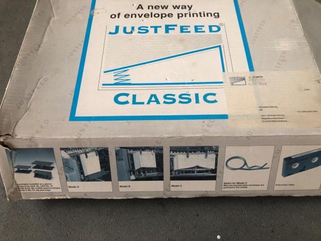JustFeed Universal Kuvertdruck-Kit - 11
