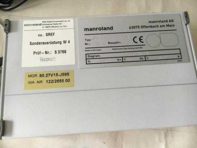 MAN Roland PressManager Smart CIP 3 Farbzonensteuerung - 2
